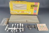 Faller AMS 4276 - 1 Straight Track Narrowing with Road Works Mint in Box