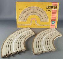 Faller AMS 4390 - 2 Virages 90° Piste Circuit Boite 1