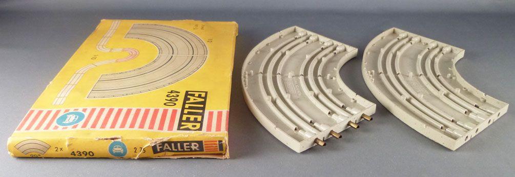 Faller AMS 4390 - 2 Virages 90° Piste Circuit Boite 3