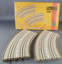 Faller AMS 4390 - 2 x 45° Turns Boxed 5
