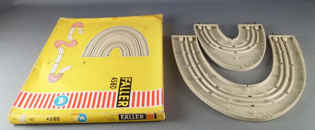 Faller AMS 4580 - Virage 180° Épingle à Cheveux Piste Circuit Boite 3