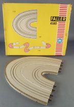 Faller AMS 4580 - Virage 180° Épingle à Cheveux Piste Circuit Boite 4
