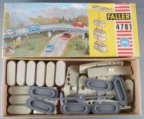 Faller AMS 4781 - 2 Boites de Piliers 4 Hauteurs différentes