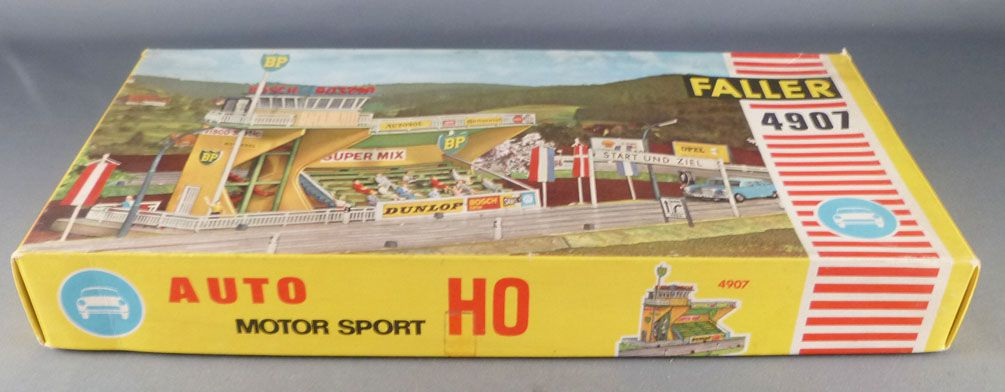 Faller AMS 4907 - Large Stands with BP Control Tower & Accessories Mint in Box