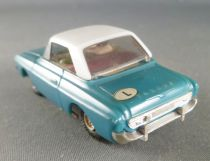 Faller AMS 5534 - Ford 20M Cabriolet Bleu Capote Blanche