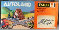 Faller Autoland 3223 Croisement Neuf Boite Playland E-Train Playtrain