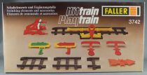 Faller Hittrain Playtrain 3742 Switching Elements and Accessories Mint in Box Playland Autoland E-Train