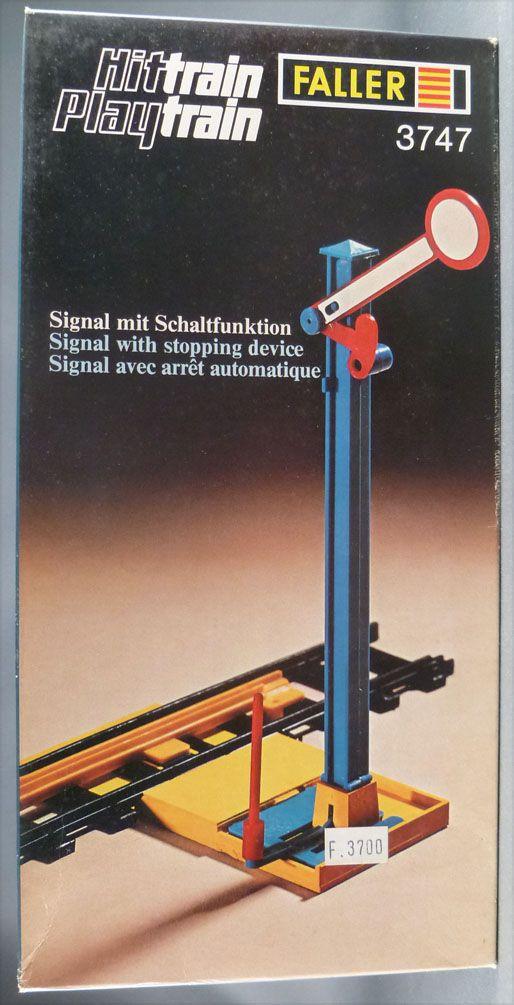 Faller Hittrain Playtrain 3747 Signal arret Automatique Sémaphore Neuf Boite Playland Autoland E-Train