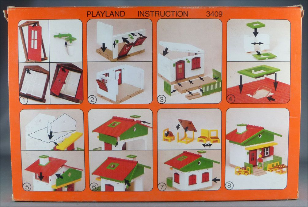 Faller Playland 3409 House Mint in Box Autoland E-Train Playtrain
