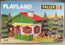 Faller Playland 3409 Maison Chalet Neuf Boite Autoland E-Train Playtrain