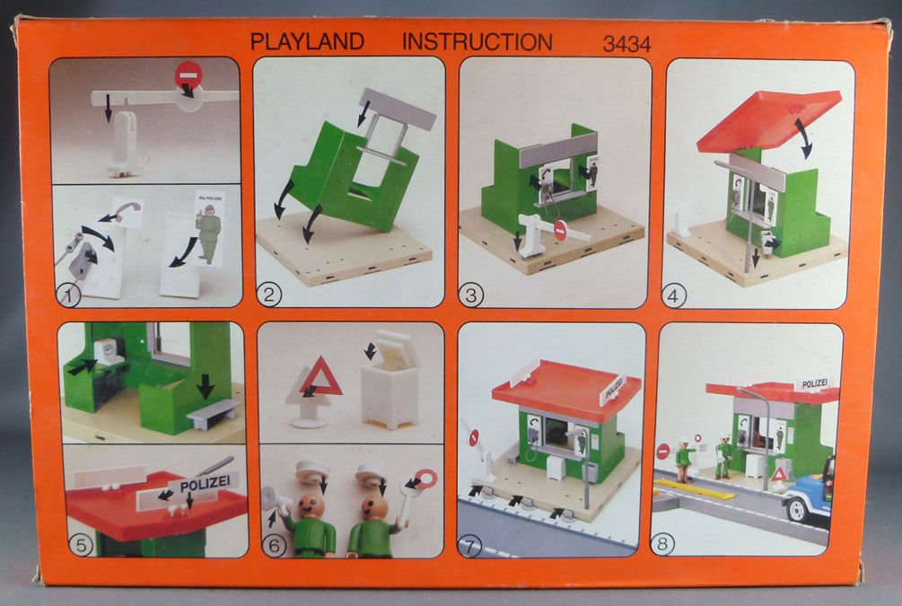 Faller Playland 3434 Police Office Mint in Box Autoland E-Train Playtrain