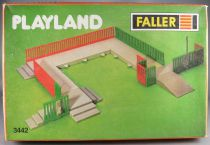Faller Playland 3442 Plateforms Set Mint in Box Autoland E-Train Playtrain