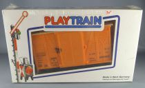 Faller Playtrain 660409 Wagon Couvert Portes Coulissantes Neuf Boite Hittrain Playland Autoland E-Train