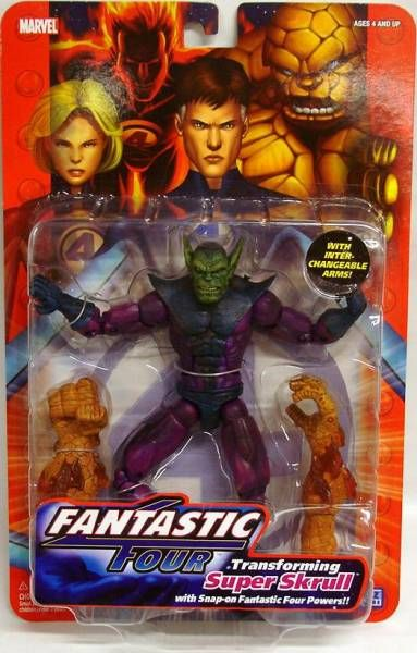 Fantastic Four - Super Skrull