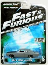 Fast & Furious - Dom\'s Dodge Charger (métal 1:64ème) Greenlight Hollywood