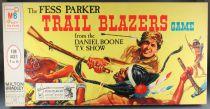 Fess Parker - Trail Blazers Game - Jeu Plateau Société MB 1964