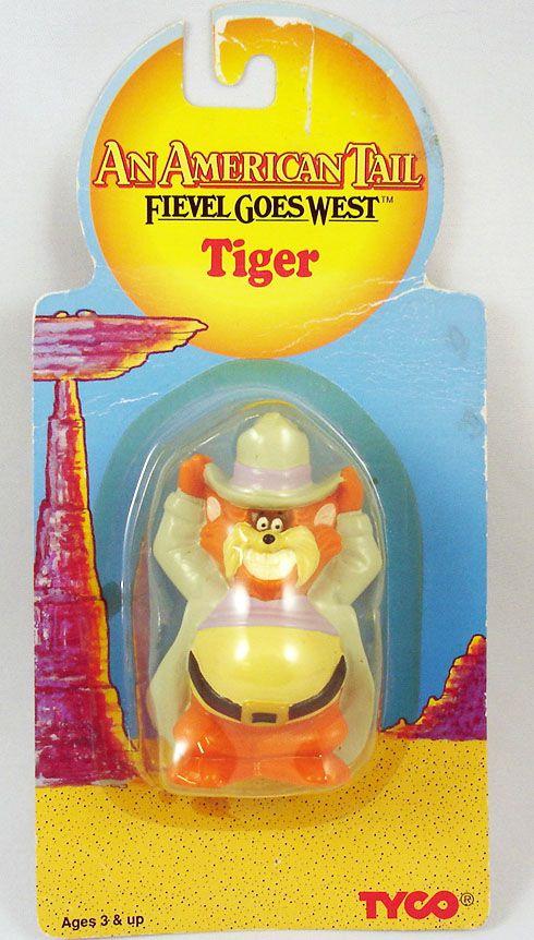 Fievel au Far West - Tyco - Tiger - Figurine sous blister