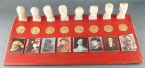 Figurine Publicitaire - Total - Les Gloires de la République - Collection Complète sur Présentoir 2