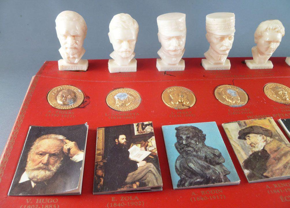 Figurine publicitaire Total Bustes Gloires de la république Marie Curie