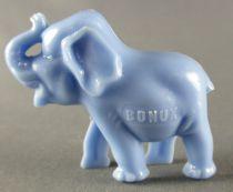 Figurine Publicitaire Bonux - Eléphant Bleu