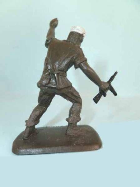 Figurine Publicitaire Bonux - Soldats Contemporains - Légion attaquant