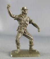 Figurine Publicitaire Bonux - Soldats Contemporains - Légion lanceur grenade kaki