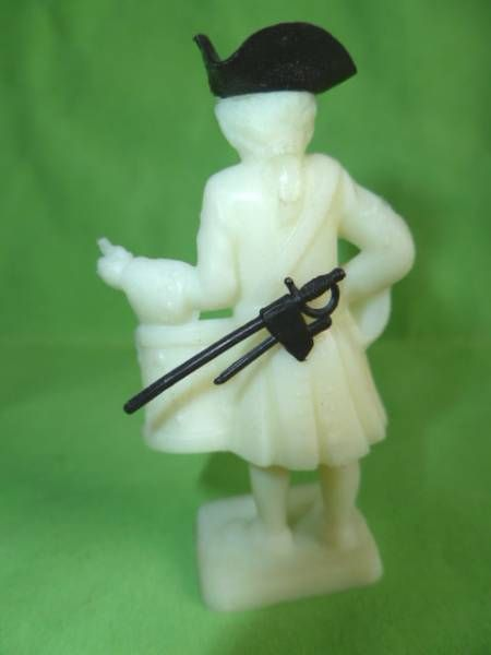 Figurine Publicitaire Bonux - Soldats de Louis XV - Tambour (blanc)