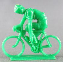 Figurine Publicitaire Café de Paris - Série Tour de France - Cycliste Serrant Cale-Pied (vert)