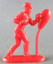Figurine Publicitaire Café de Paris Duf - Série Sports - Boxeur Punching Ball