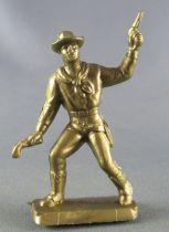 Figurine Publicitaire Café Legal Far West n° 51 Kid Booney (souple doré)