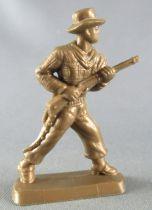 Figurine Publicitaire Café Legal Far West n° 55 Mike (souple bronze)