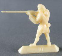 Figurine Publicitaire Café Nadi - Far-West - N°10 Trappeur Tireur Fusil
