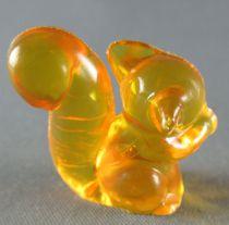 Figurine Publicitaire Goulet-Turpin - Animaux - Ecureuil (orange trasparent)