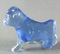 Figurine Publicitaire Goulet-Turpin - Animaux - Vache (bleu transparent)