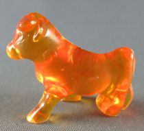 Figurine Publicitaire Goulet-Turpin - Animaux - Vache (orange transparent)