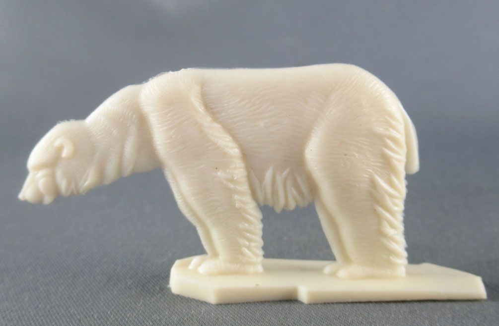 Figurine Publicitaire Heudebert - Le Grand Nord - N°1 Ours polaire