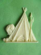 Figurine Publicitaire Heudebert - Le Grand Nord - N°102 Tente
