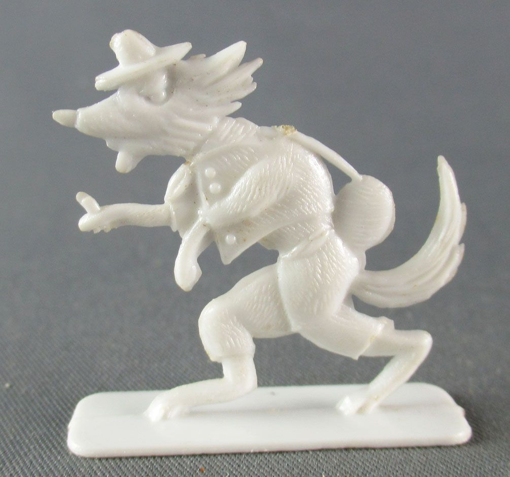 Figurine Publicitaire Le Baby l\'Aiglon Supralta - Le Petit Chaperon Rouge - Loup -