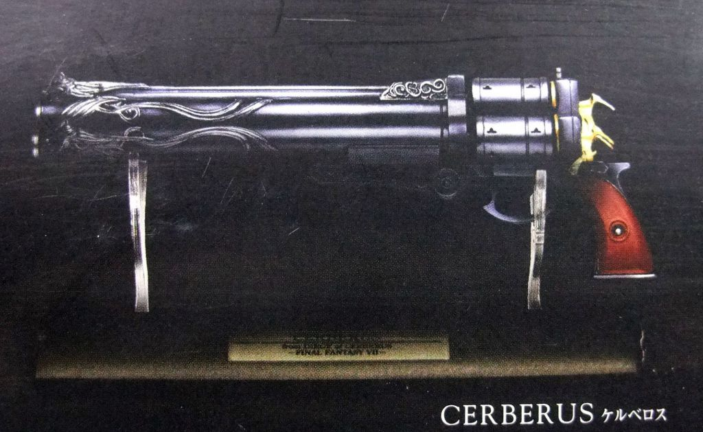 Final Fantasy Master Arms - Cerberus from Final Fantasy VII - Square Enix