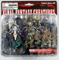 Final Fantasy Master Creatures - Yunalesca & Cerberus - Figurines PVC Diamond