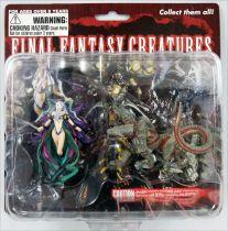Final Fantasy Master Creatures - Yunalesca & Cerberus - PVC Figures - Diamond