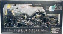 Final Fantasy VII - Cloud Strife & Hardy Daytona - Diamond action figure