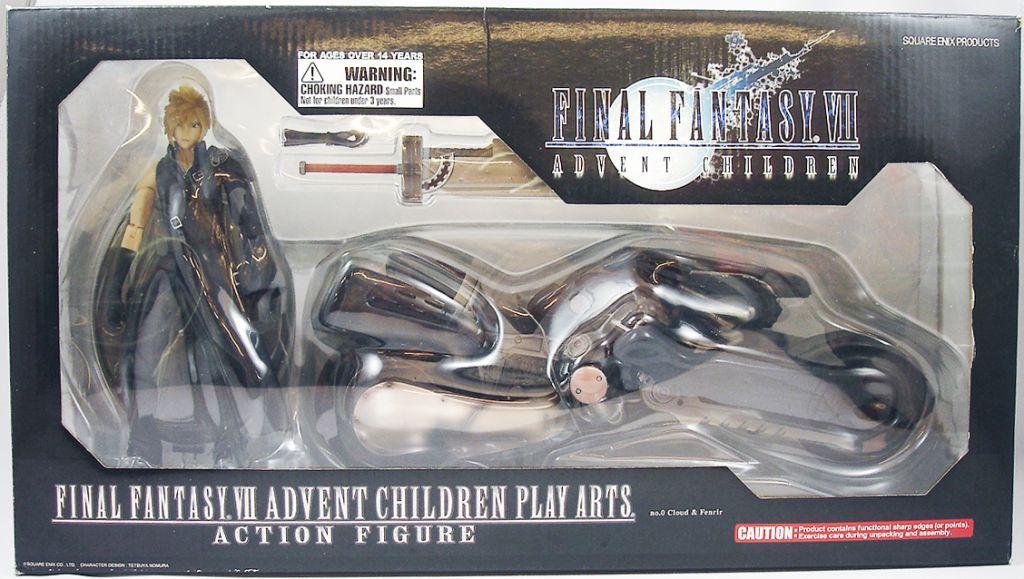 Final Fantasy VII Advent Children - Cloud Strife & Fenrir - Figurine Play Arts Square Enix