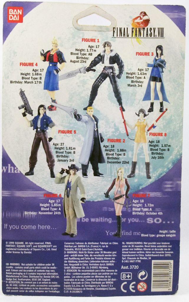 "Final Fantasy VIII - Bandai - Quistis Trepe 5\"" action-figure"