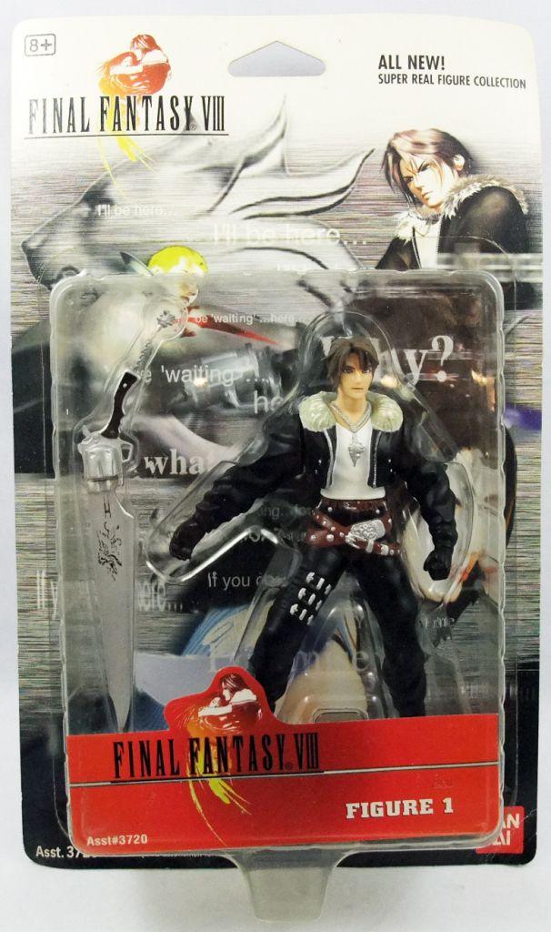 "Final Fantasy VIII - Bandai - Squall Leonhart 5\"" action-figure"