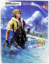Final Fantasy X HD Remaster - Tidus - Square Enix Play Arts Kai action figure