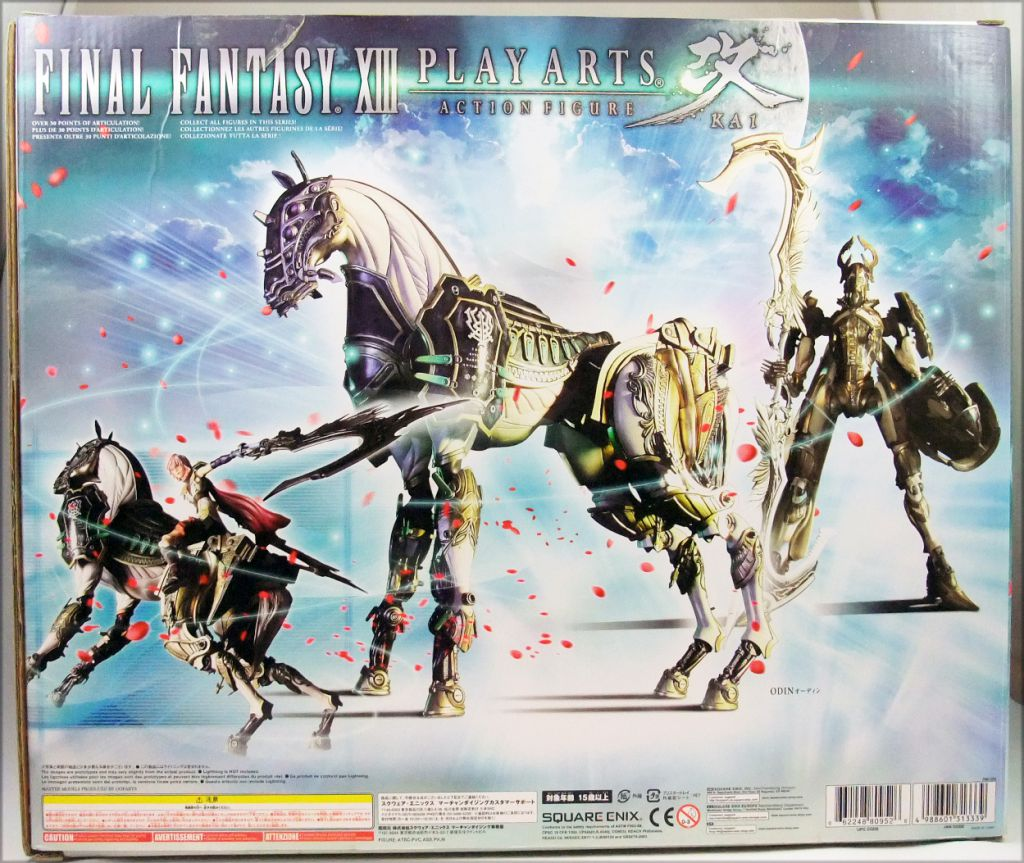 Final Fantasy XIII - Odin - Figurine Play Arts Kai Square Enix