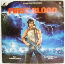 First Blood (Original Motion Picture Soundtrack) - Record LP - EMI 1983