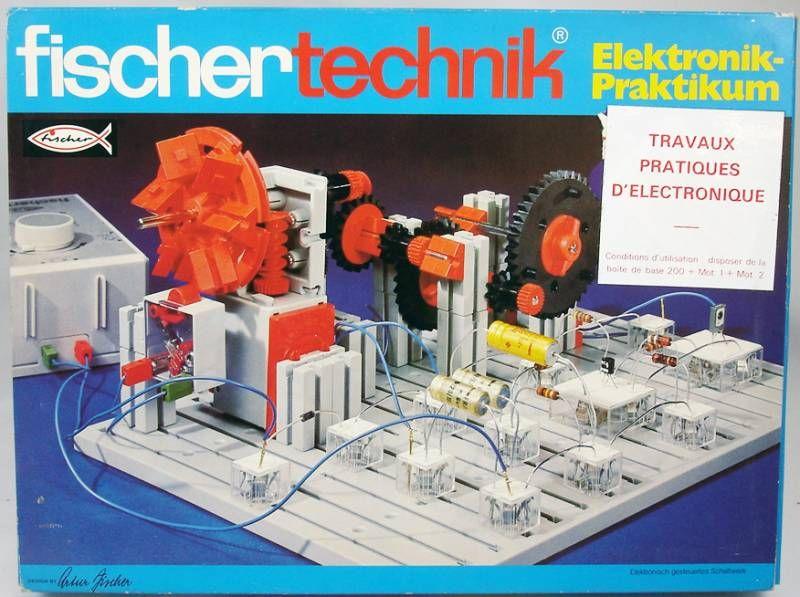 Fischertechnik - N°30629 Electronic Practice