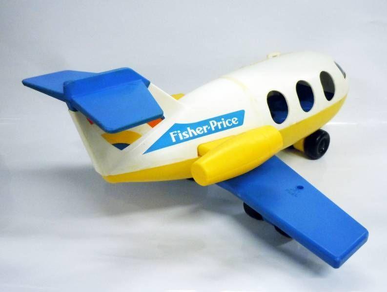 Fisher-Price 1980 - Little People - L\'avion et ses passagers